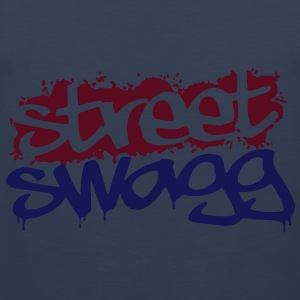 Street Swagg Tag T-Shirts - Men's Premium Tank Top