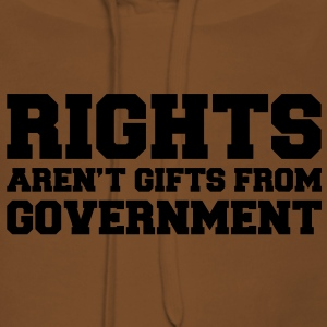 Rights aren't Gifts Shirt - Frauen Premium Hoodie