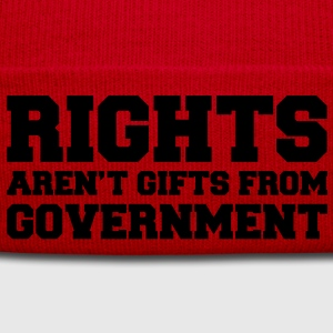 Rights aren't Gifts Shirt - Wintermütze