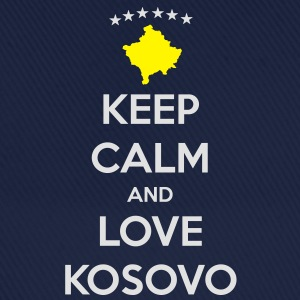 KEEP CALM AND LOVE KOSOVO T-shirts - Basebollkeps