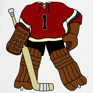 Vintage Ice Hockey Goalie T-Shirts - Cooking Apron