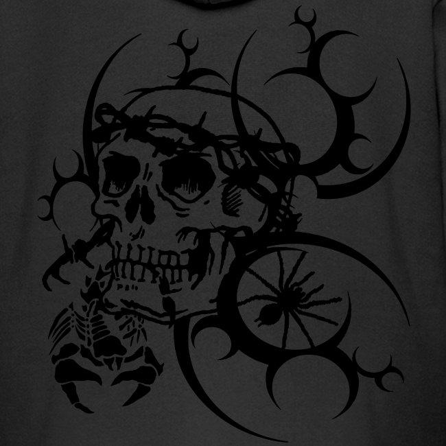 Herren Totenkopf T-Shirt