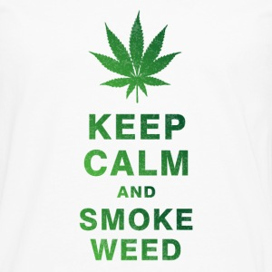 KEEP CALM AND SMOKE WEED T-Shirts - Men's Premium Longsleeve Shirt