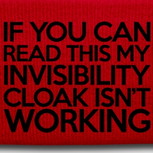 Invisibility Cloak T-shirts - Wintermuts