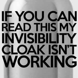 Invisibility Cloak T-Shirts - Water Bottle