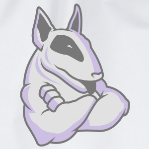 Bullterrier Mascot 3c T-Shirts - Drawstring Bag