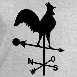 Weather-cock, cock  T-Shirts - Men's Sweatshirt by Stanley & Stella