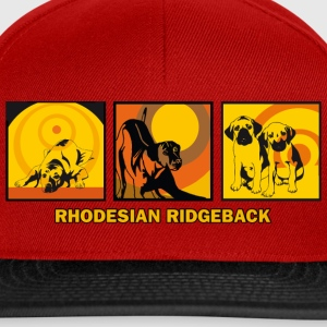 Rhodesian Ridgebacks Pop Art T-Shirts - Snapback Cap