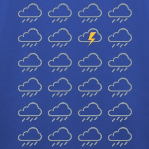 Weather clouds  T-Shirts - Kids' Premium Hoodie