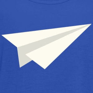 Classic Paper Aeroplane T-Shirts - Women's Tank Top by Bella