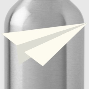Classic Paper Aeroplane T-Shirts - Water Bottle