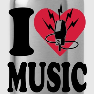 i love music T-Shirts - Trinkflasche