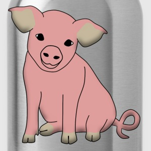 pig sit T-Shirts - Water Bottle