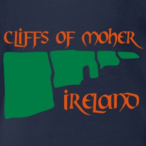 cliffs of moher T-Shirts - Baby Bio-Kurzarm-Body