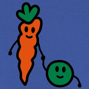 carrot_and_pea Camisetas - Sudadera hombre