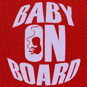 Baby On Board T-Shirts - Snapback Cap