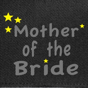 Star Mother of the Bride T-Shirts - Snapback Cap