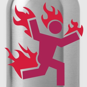 Do not set yourself on fire - Water Bottle