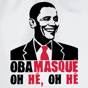 obamasque oh he president humour2 provoc Tee shirts - Sac de sport léger