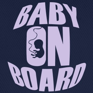 Baby On Board T-shirts - Basebollkeps
