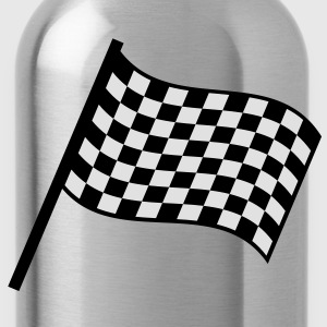 racing_flag T-shirts - Vattenflaska