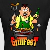 Grillfest T-shirts - Dame-T-shirt