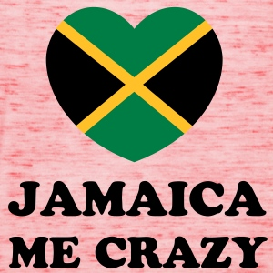 jamaica me crazy  T-Shirts - Women's Tank Top by Bella