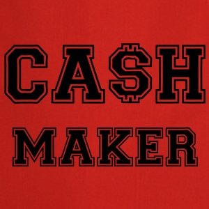 Cash Maker T-shirts - Keukenschort