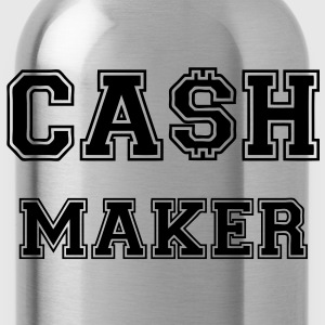 Cash Maker T-shirts - Vattenflaska