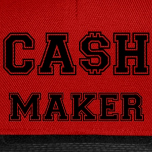 Cash Maker T-Shirts - Snapback Cap