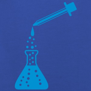 laboratory_bottle_and_pipette T-Shirts - Kinder Premium Hoodie