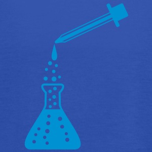 laboratory_bottle_and_pipette T-shirts - Vrouwen tank top van Bella