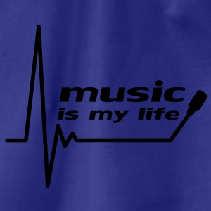 music_is_my_life Magliette - Sacca sportiva