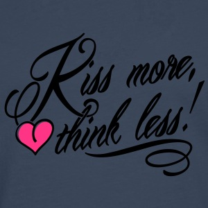 Kiss more, think less! Camisetas - Camiseta de manga larga premium hombre
