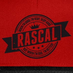 Vintage RASCAL quotes - Good and better! Magliette - Snapback Cap