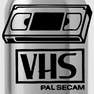 VHS Video Casette T-Shirts - Water Bottle