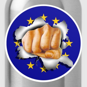 Anti EU - Fist 002 T-Shirts - Water Bottle