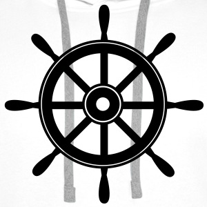 wheel T-Shirts - Men's Premium Hoodie