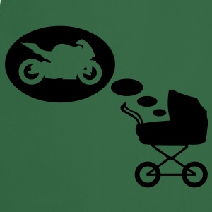 Stroller dream motorcycle  T-Shirts - Cooking Apron