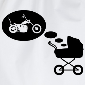 Wandelwagen droom chopper  T-shirts - Gymtas