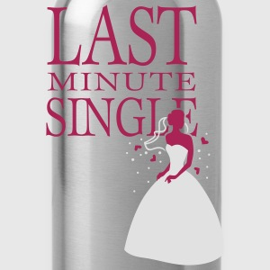 Pink Last minute Single T-Shirts - Water Bottle