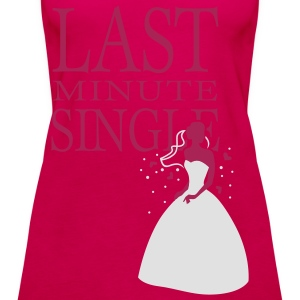 Pink Last minute Single T-Shirts - Women's Premium Tank Top