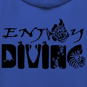 Enjoy Diving Tee shirts - Pull à capuche Premium Enfant