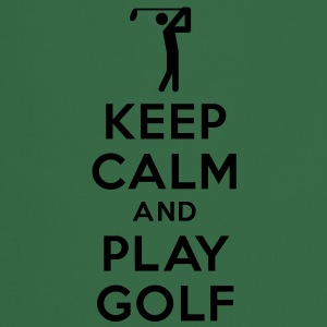 keep calm and play golf Tee shirts - Tablier de cuisine