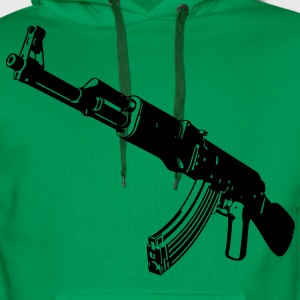 Machine gun T-Shirts - Men's Premium Hoodie