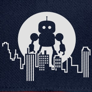 Robot City Skyline T-shirts - Snapbackkeps