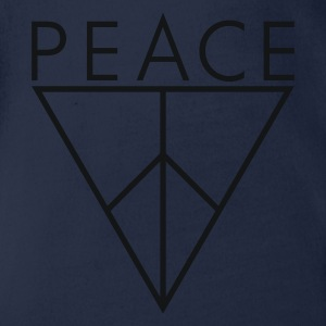 Triangle of Peace 4.2 - Organic Short-sleeved Baby Bodysuit