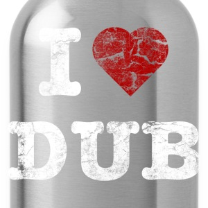 I Love DUB vintage light T-shirts - Vattenflaska