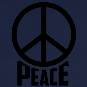 peace Frieden Hippie T-Shirts - Baseballkappe