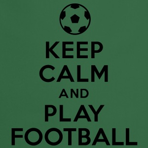 Keep calm and play Football Tee shirts - Tablier de cuisine